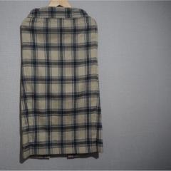 【GU購入品】チェックのタイトスカートで大人可愛く❤︎カジュアルにもレディにもまとめられて着まわし抜群優秀です☝︎