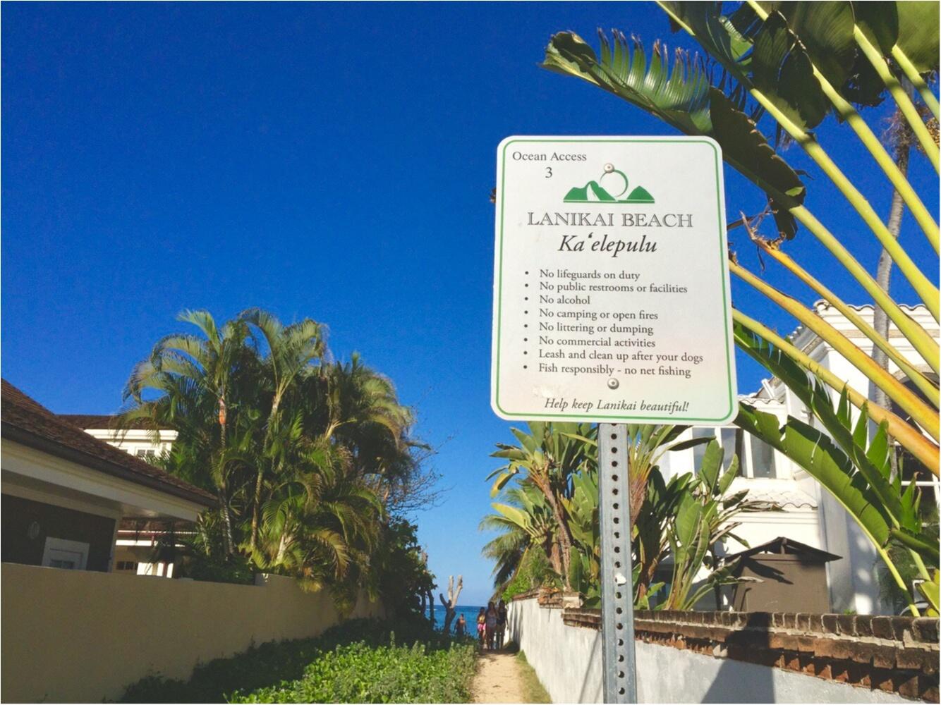 【TRIP】ワイキキビーチだけじゃない♡ハワイで行きたいまったりビーチはここがおすすめ♡_6