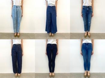 『ユニクロ』のジーンズ全種類はき比べ! スカート風、美脚見え、腰ばき…春はどのシルエットでいく? PhotoGallery