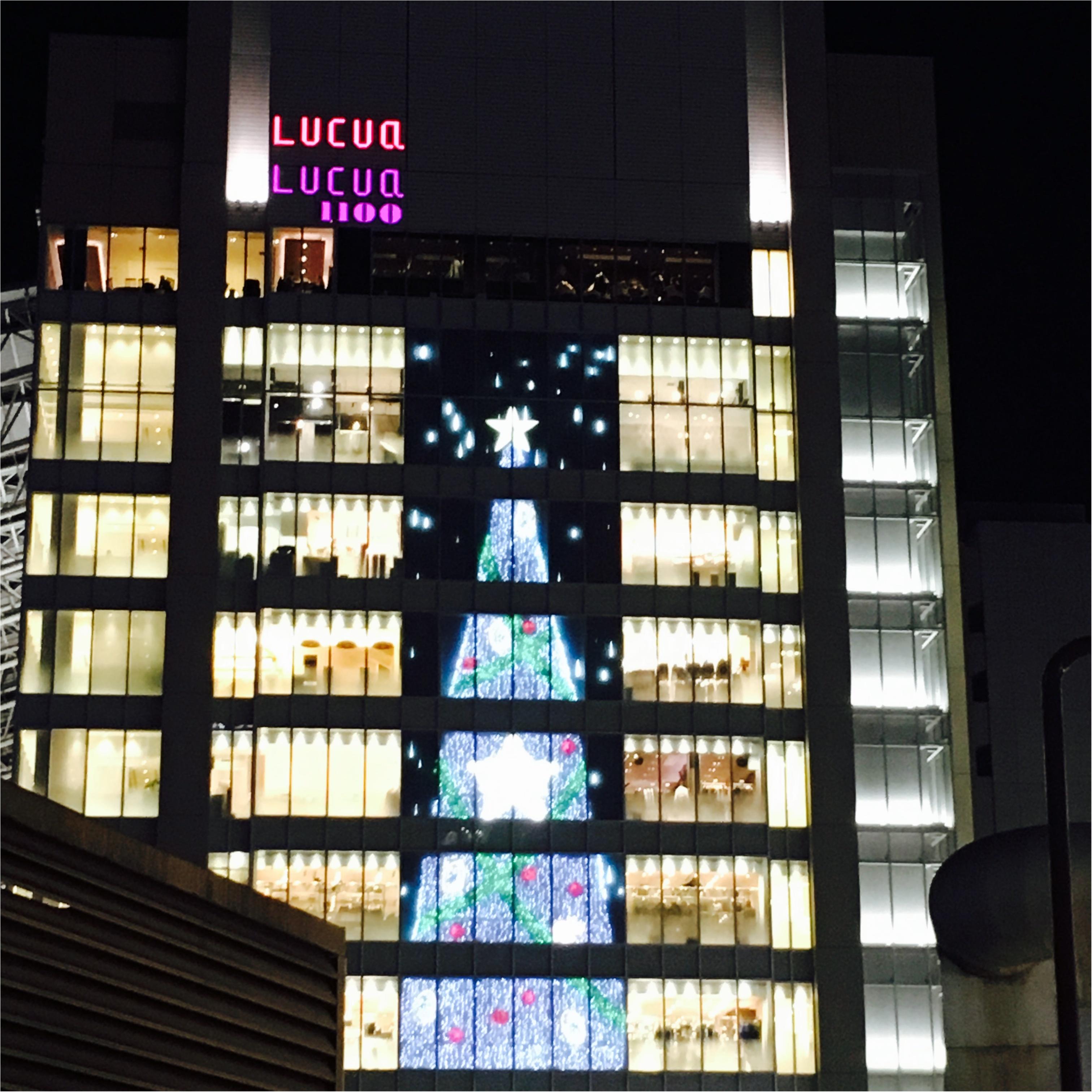 【大阪・梅田】の≪クリスマススポット≫はここ!\(^o^)/_1