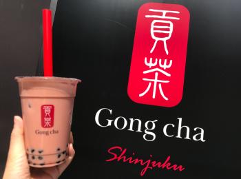 【Gong Cha】タピオカドリンクも春仕様♪《苺×ミルクティー×タピオカ》の最強コラボ♡
