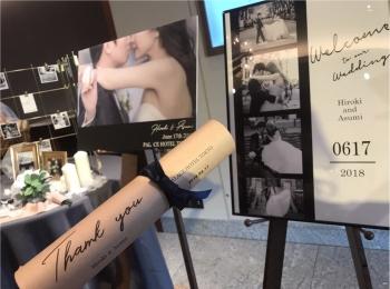 【パレスホテル東京】Happy Wedding❤︎モアハピ部 asuちゃんのアットホームな結婚式♡