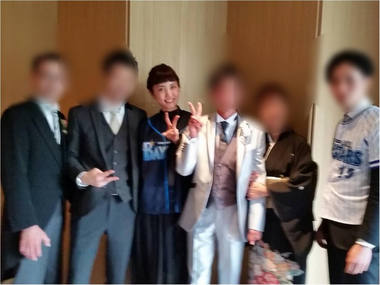 【結婚式のいろいろ】弟の結婚式に参加してきました♡‐八芳園‐_9