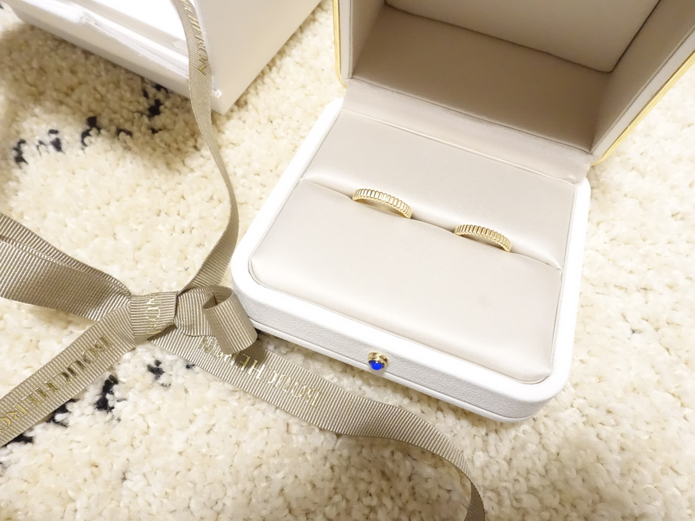 《プレ花嫁の結婚式準備》結婚指輪をGETしました!_1