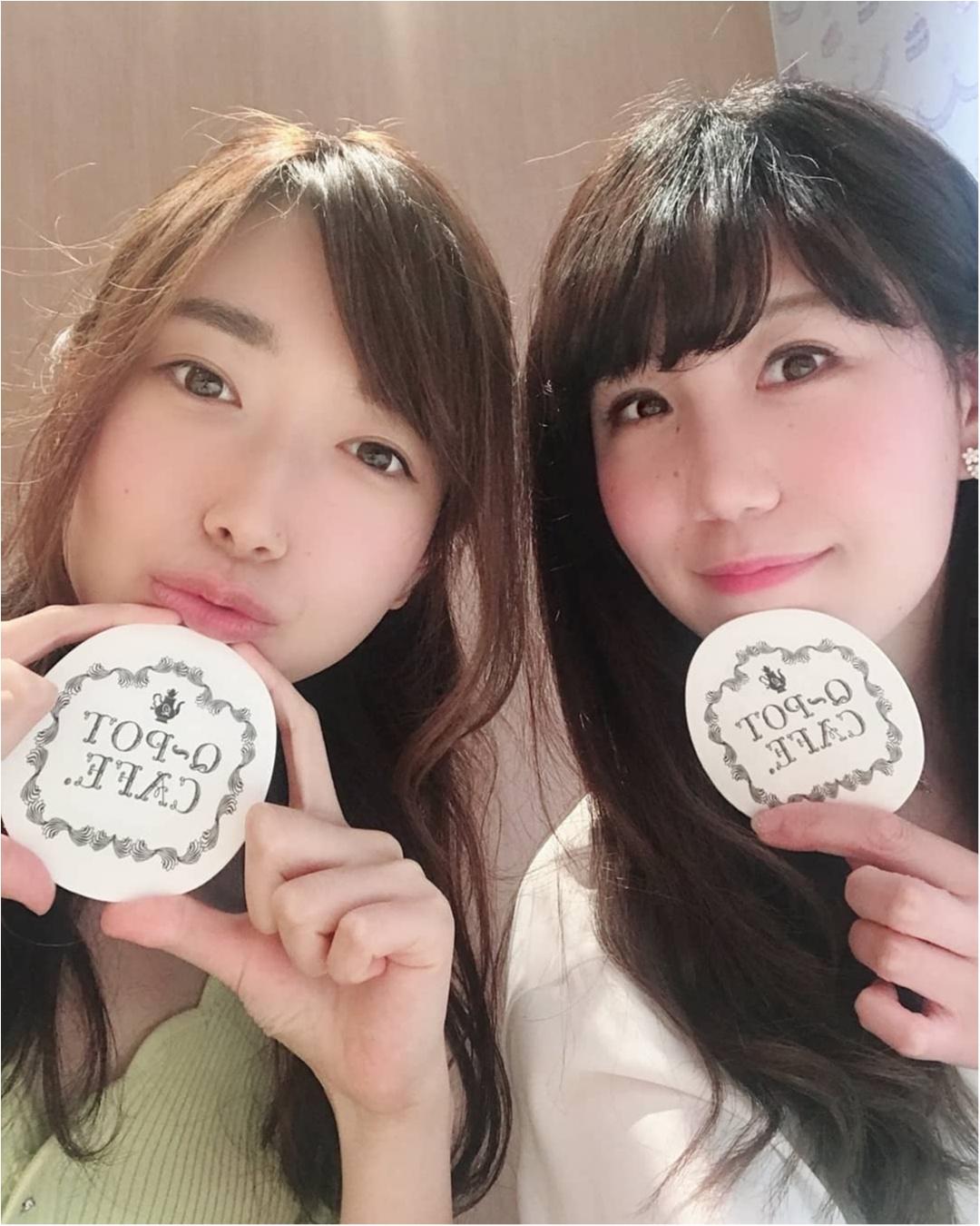 【表参道 Q-pot CAFE.】お菓子で溢れた店内で♡アクセサリーをモチーフにしたスイーツに舌鼓_9