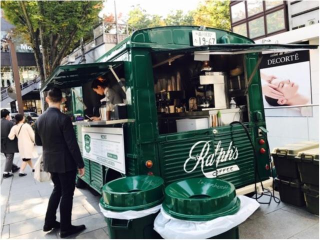 【表参道カフェ】ラルフローレンの移動カフェ《Ralph's COFFEE》が日本に★_2