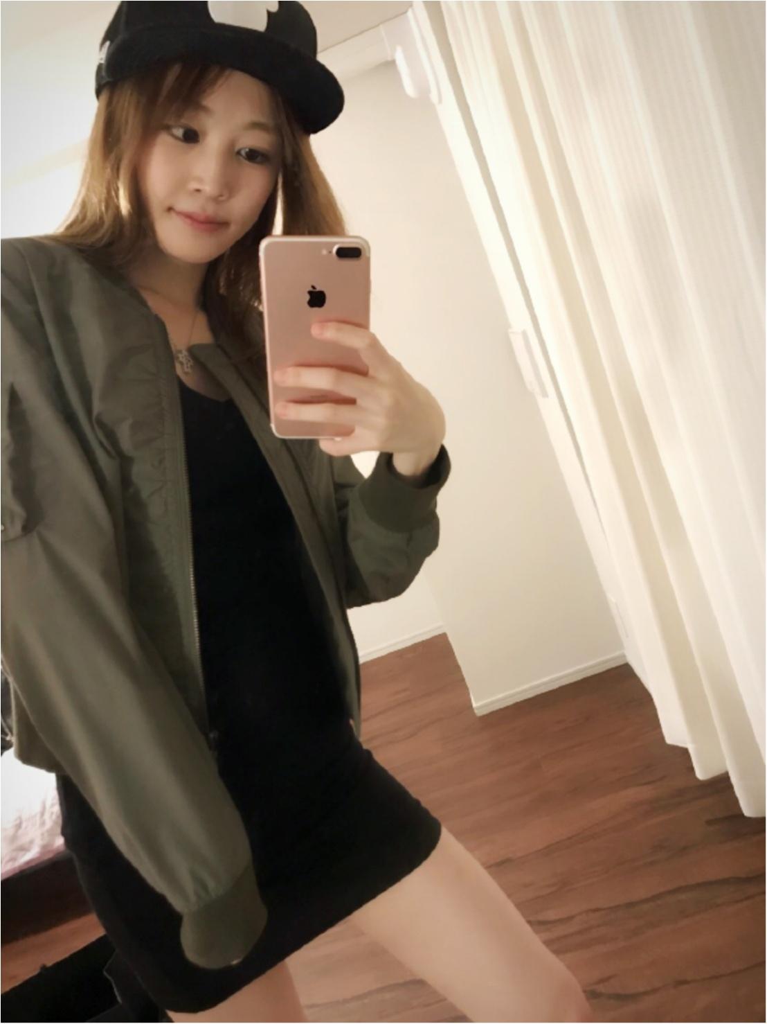 夏のお気に入りスタイル♡ゴツめな靴にはタイトな服で♡_3