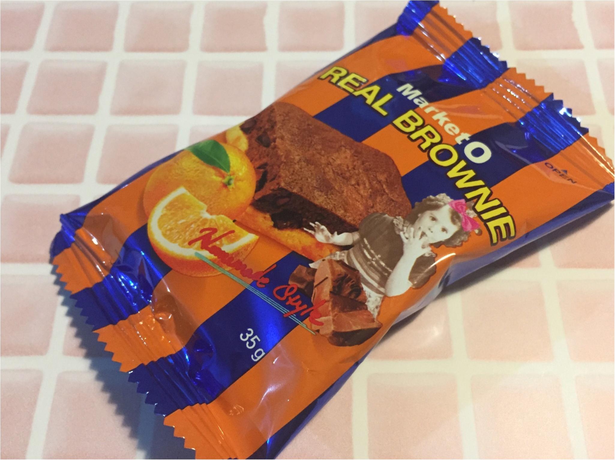 コンビニで手軽に買えるお菓子★『market O real brownie』に新発売の味が出たの知ってる?❤︎_1