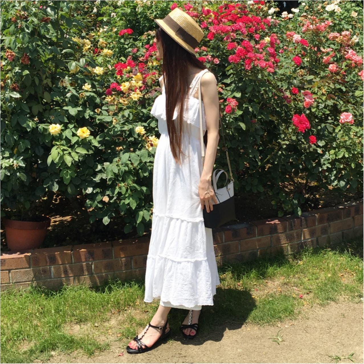 夏コーデの主役は《 ホワイト 》で決まり♡マキシワンピースで爽やかオシャレに♡_1