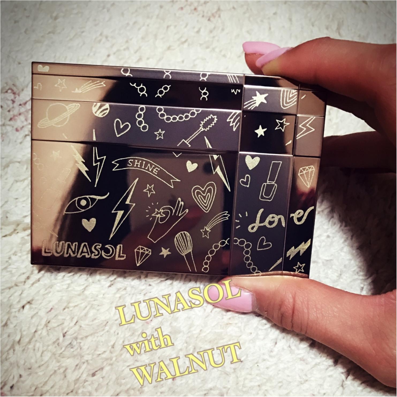 大人気のルナソルのパウダーファンデの限定品!【LUNASOL with WALNUT】スペシャルコレクション★_2