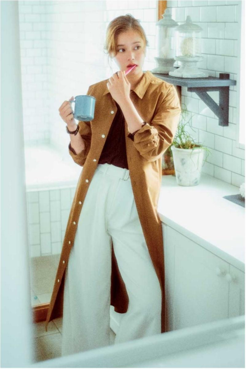 きちんと見えのマストアイテム【シャツワンピ】コーデ10選|ファッション_1_2