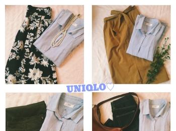 《やっぱり優秀!》今年はこう着回します✌︎★【UNIQLO】のプレミアムリネンシャツで着回し4コーデ❤️