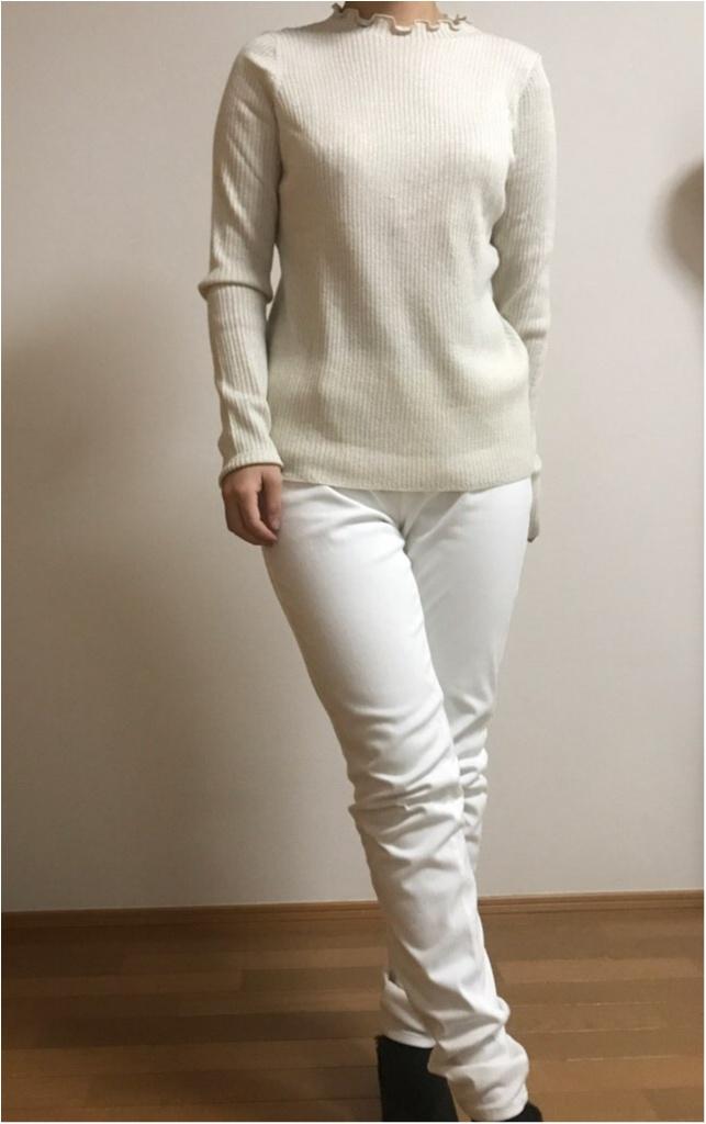 """【GU】の""""ホワイト""""でつくる《通勤コーデ》★新年一発目の仕事服は、いつもより気合を入れたい!!_2"""