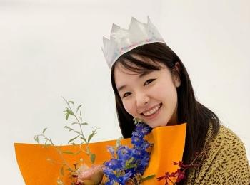 唐田えりかちゃん22歳のバースデーを先日お祝いしました♡【撮影のオフショット】
