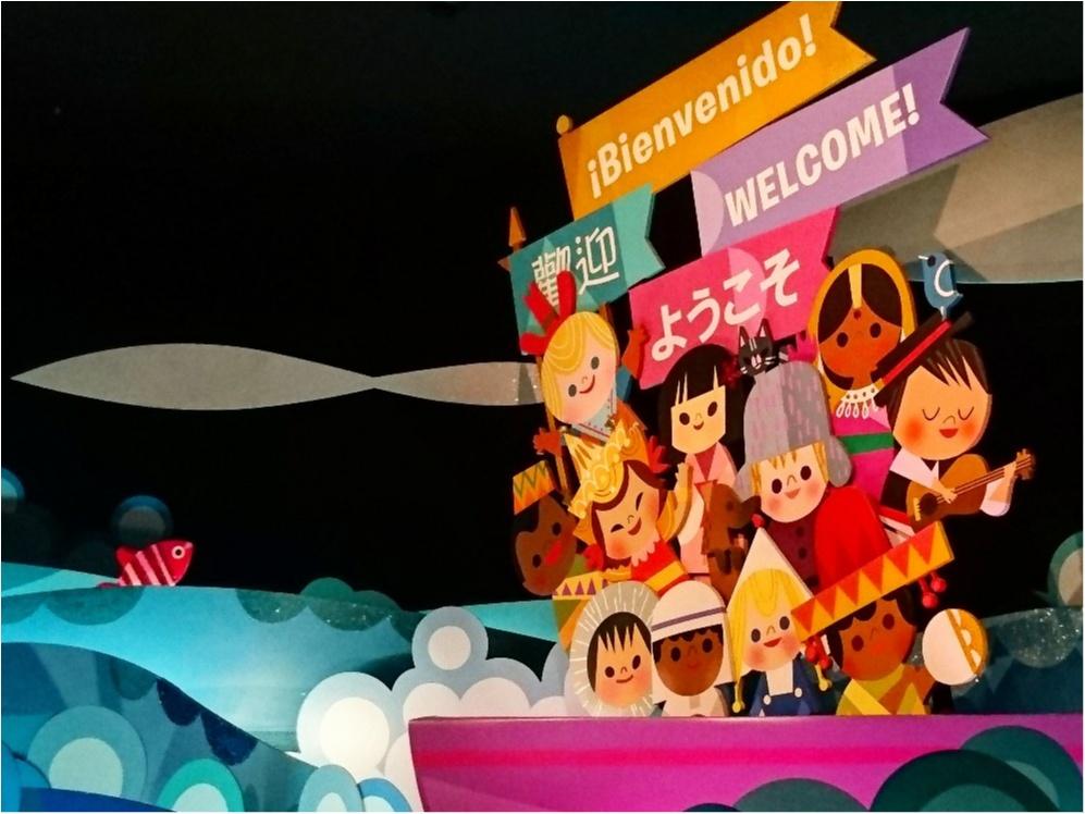 【 しの散策 】東京ディズニーリゾート 35周年 ★ リニューアルした《 イッツ・ア・スモールワールド 》が 可愛いすぎる ♪_5