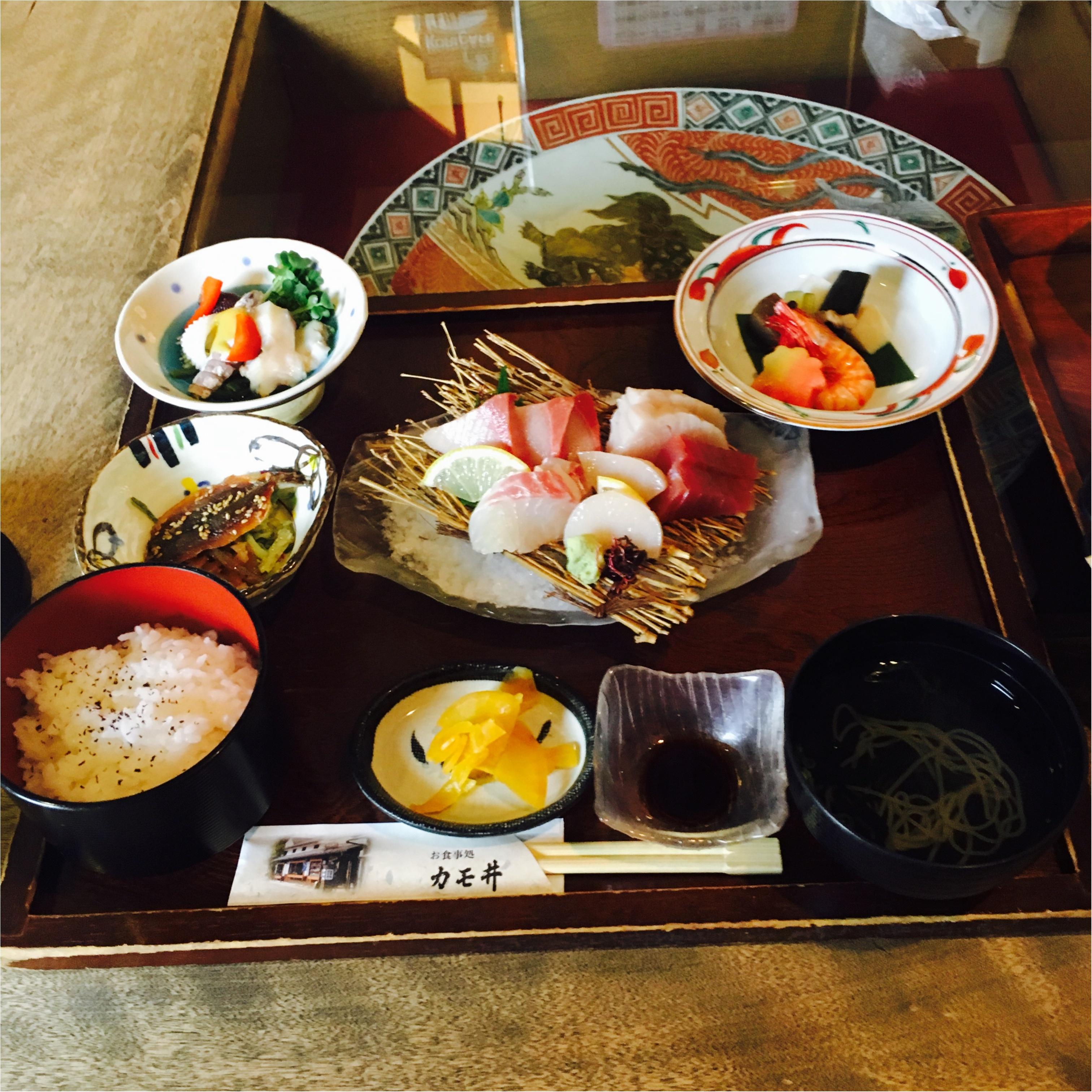 【岡山・倉敷 旅行②】茶房≪カモ井≫のランチが美味しすぎる!地元の食材を満喫しました!_3