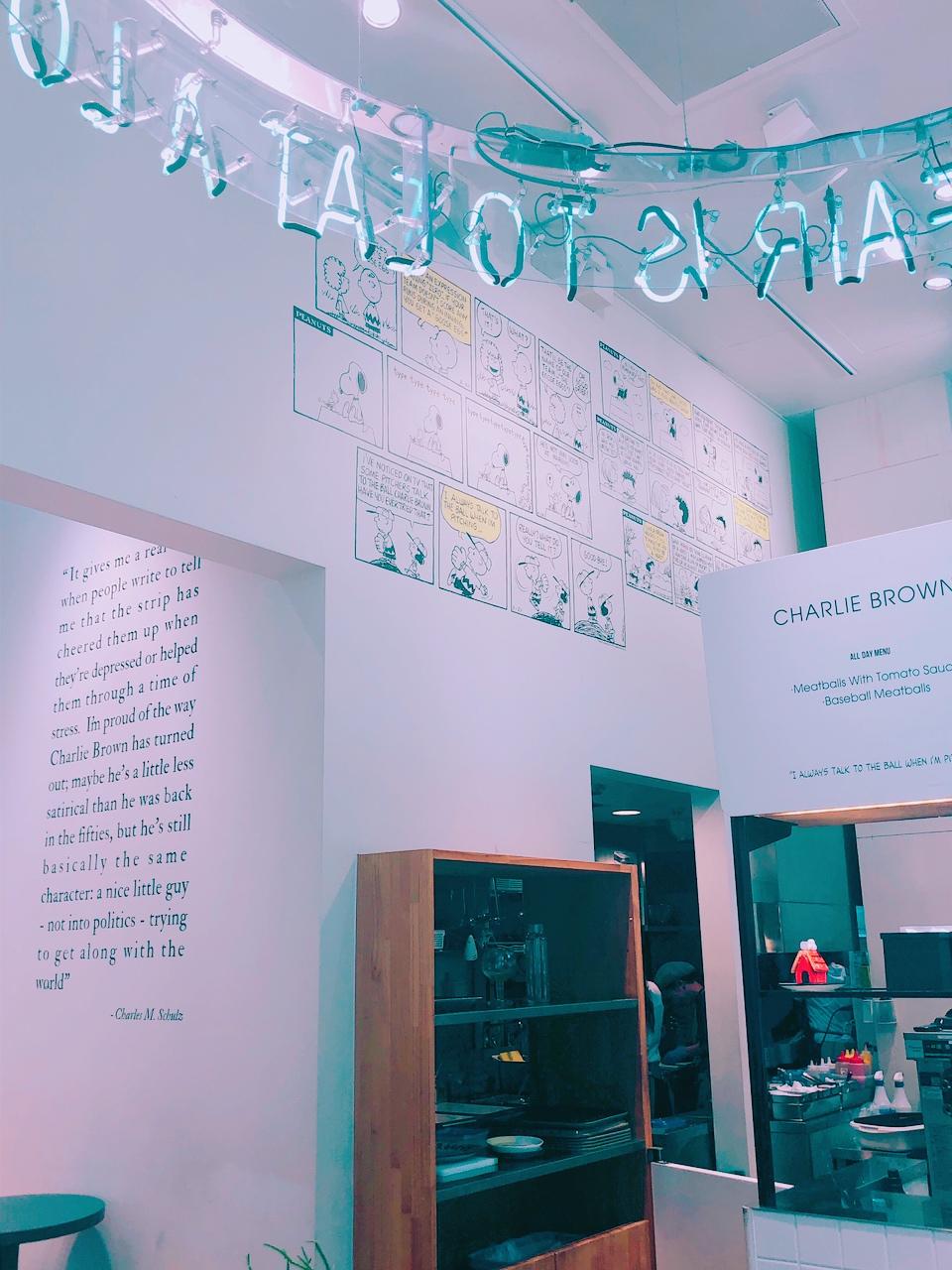 【スヌーピー】PEANUTS Cafeに行ってきました*_4