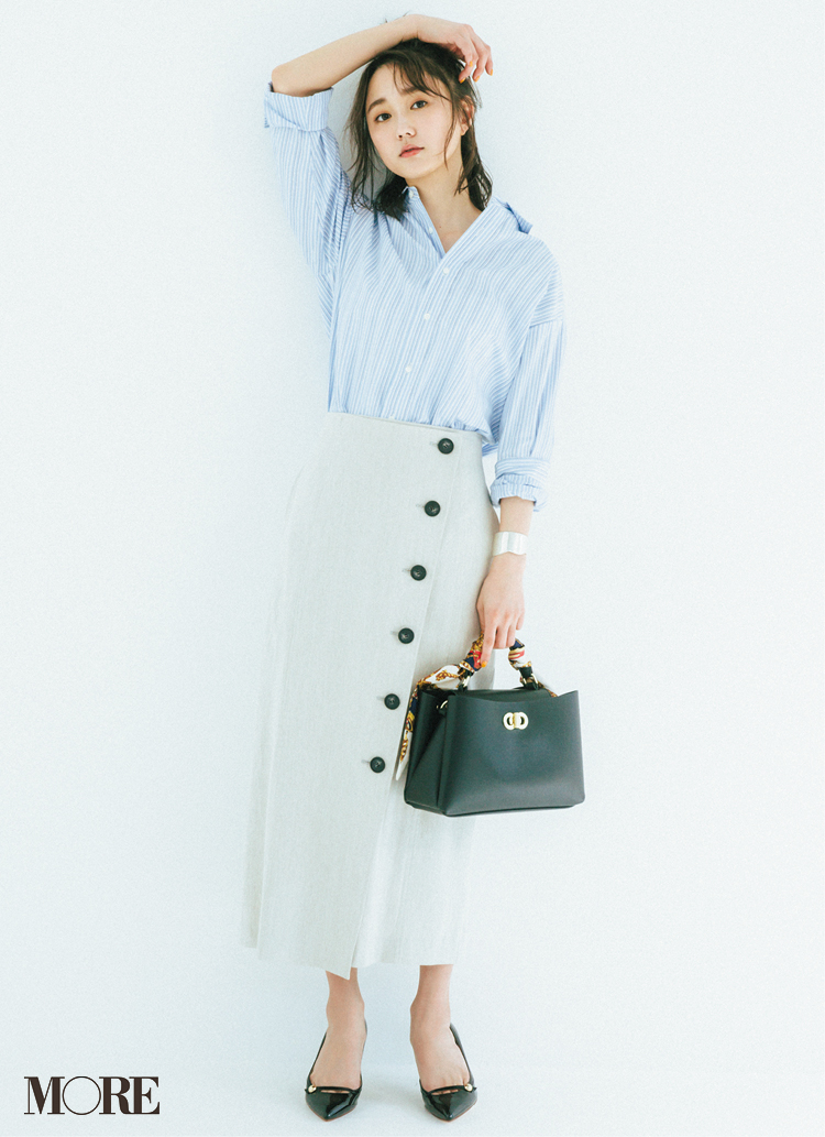 注目は「リネンスカート」! 白石麻衣のスポーティコーデも美しすぎると話題♡【今週のファッション人気ランキング】_3
