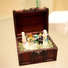【花婿DIY】男性でも出来た!簡単なのに、おしゃれに見える!レゴリングピローの作り方