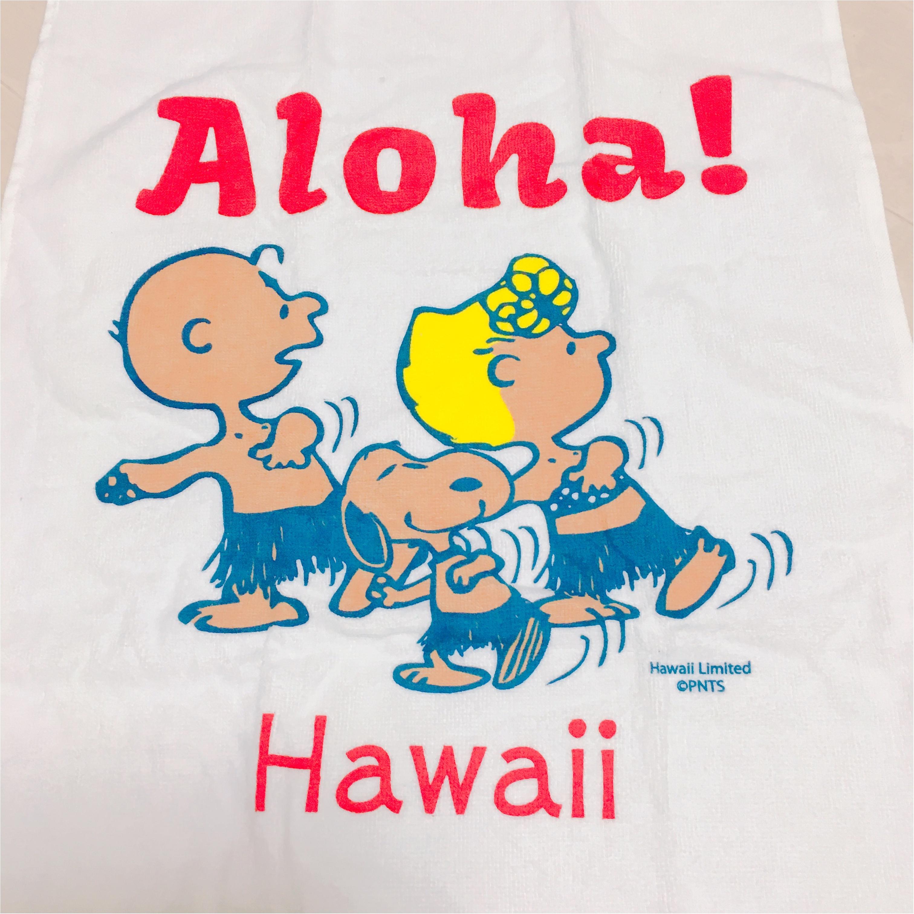 《スヌーピーまで日焼けしちゃった♡》ハワイ限定スヌーピーと日本でゲットする方法♡_3