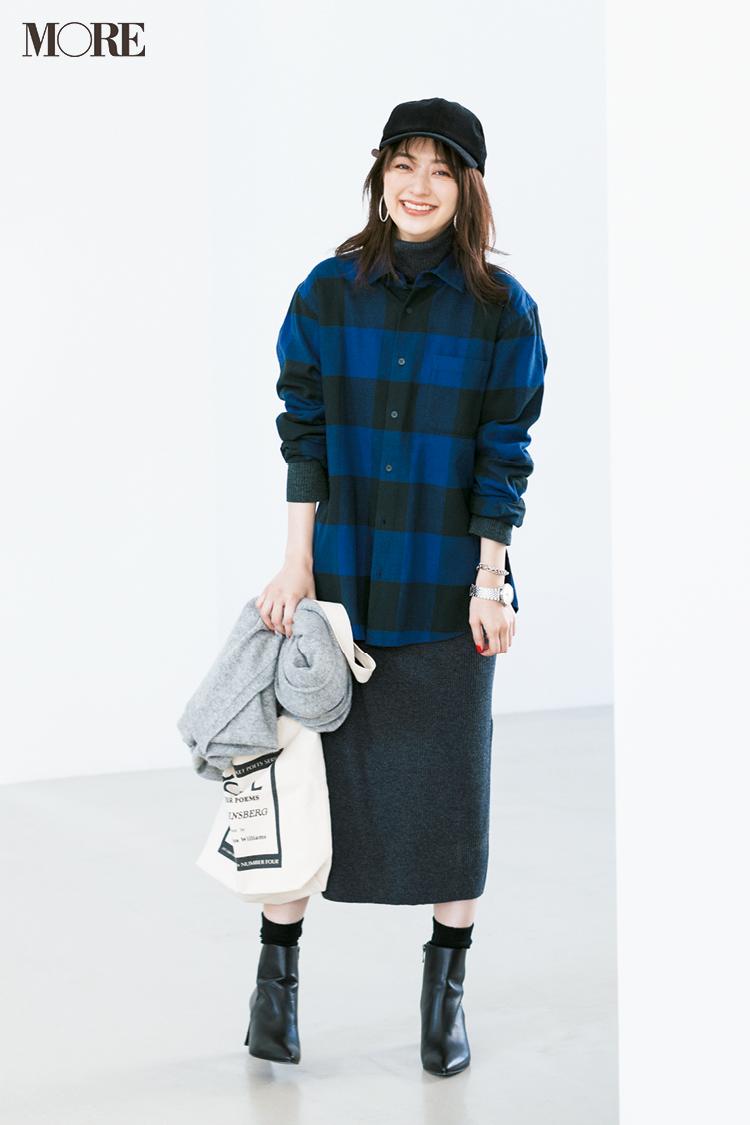 ビッグサイズがポイント! 2019年冬から春にかけて着たいシャツコーデ | ファッション_1_8