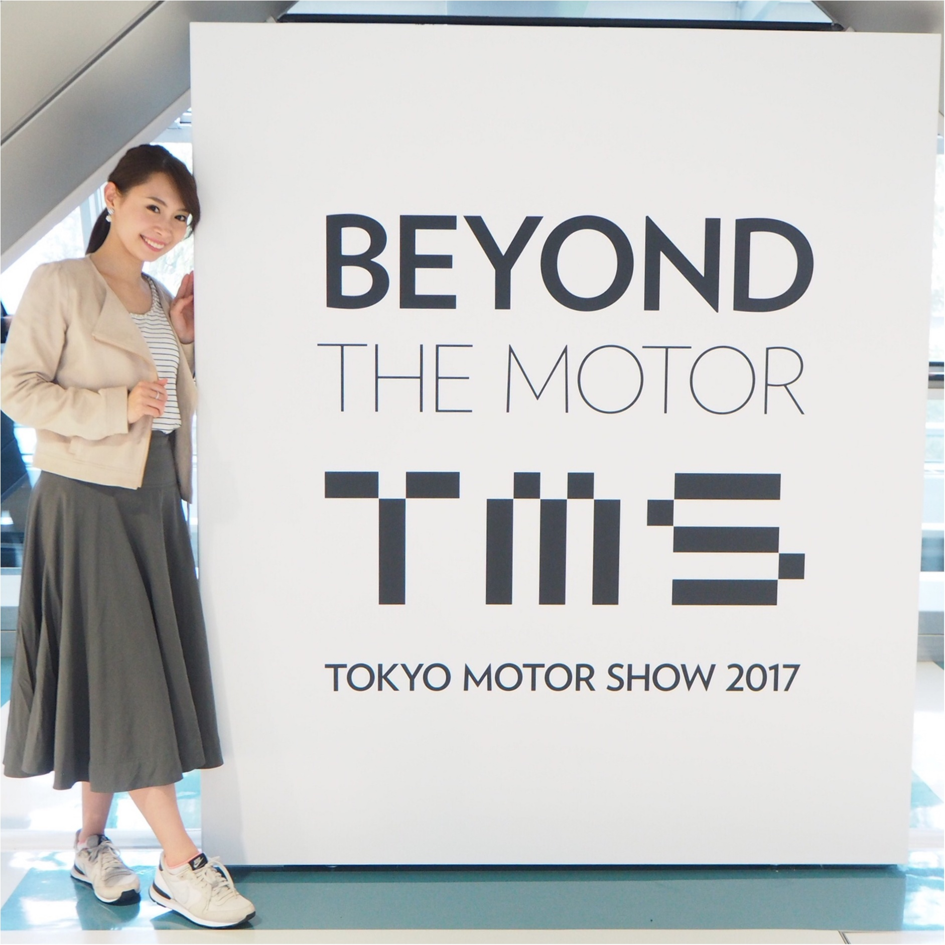 【乗り物好きにはたまらない♡】東京モーターショー2017へ行ってきました_1