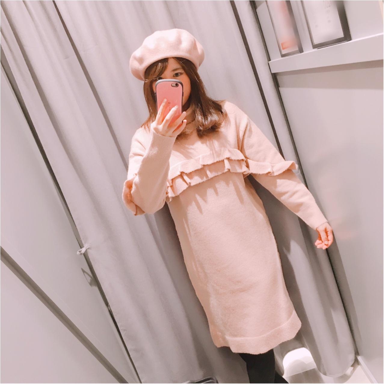 【GU(ジーユー)】今期トレンドのベレー帽を取り入れたコーデ♡_2