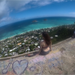 【ハワイ旅①】ダイヤモンドヘッドだけじゃない、ハワイのハイキング!キツい分それ以上の景色と感動が待っていました♡♡♡