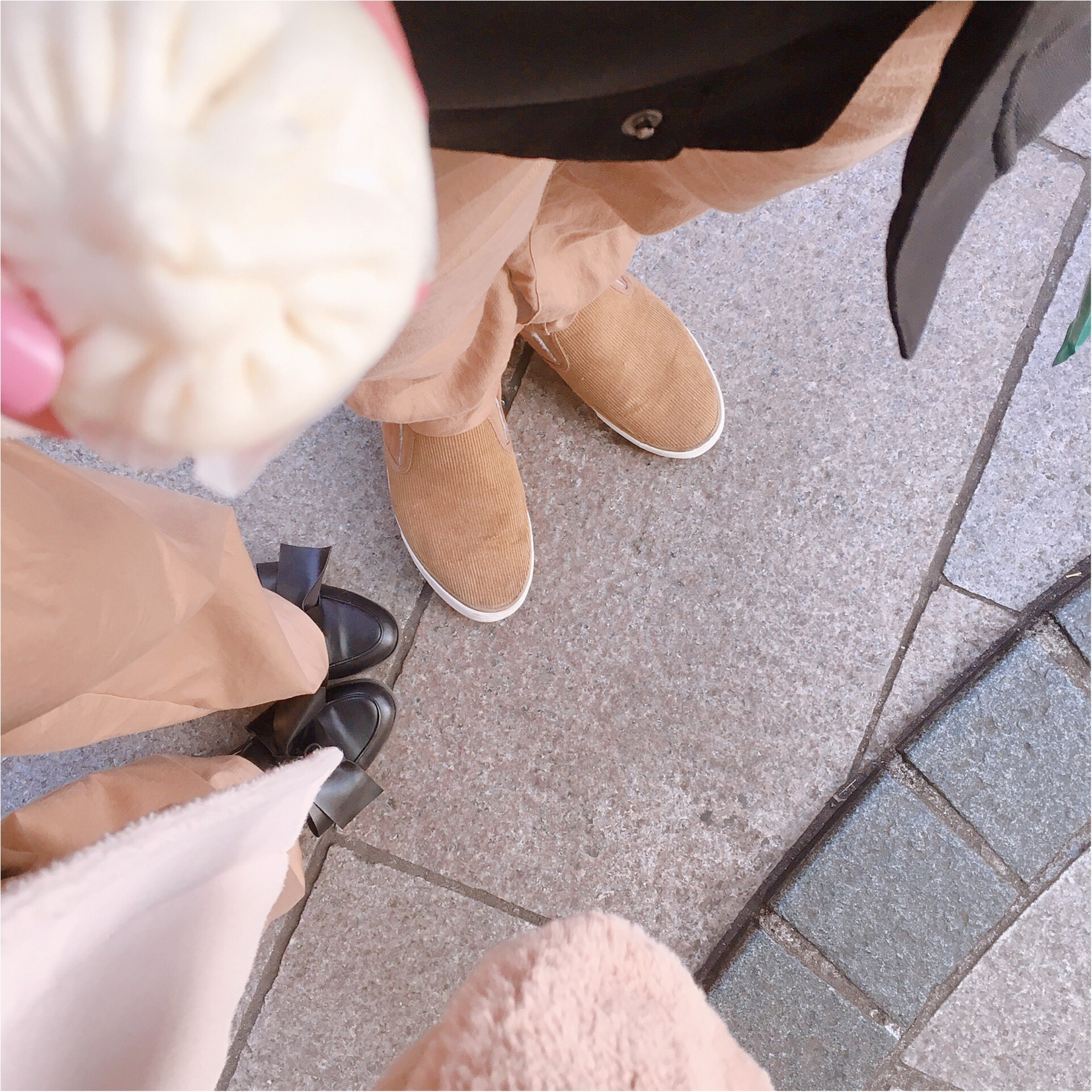 《カップルリンクコーデ》春まではける【GU(ジーユー)】チノパンで中華街デート♡_1