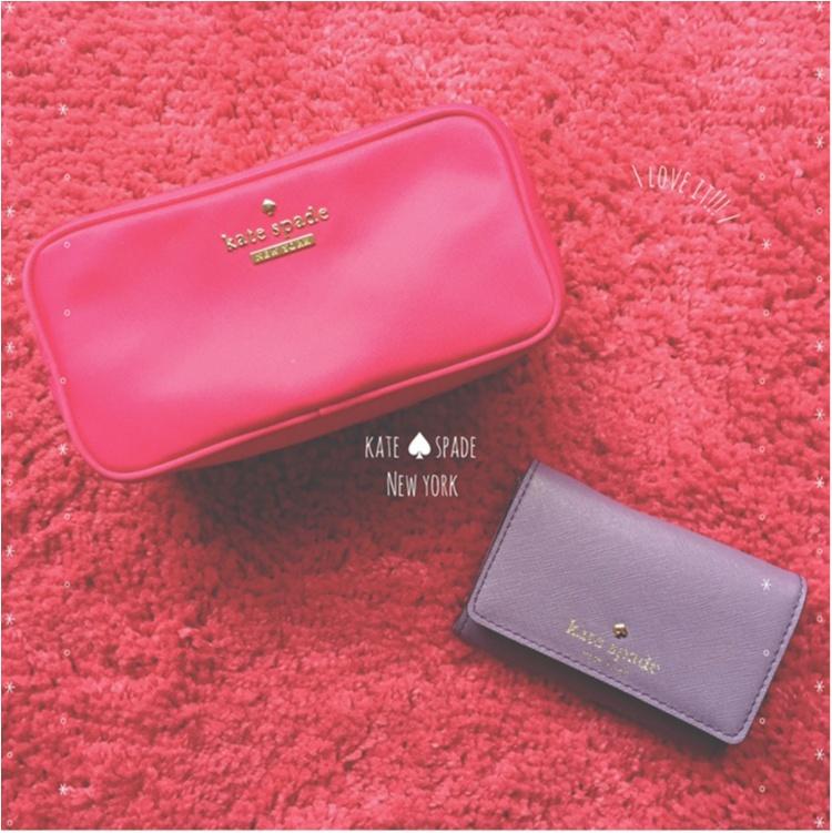 【Beauty】毎日の小物はピンクで統一気分Up♡だいすきkate spade のparty情報も♡_2