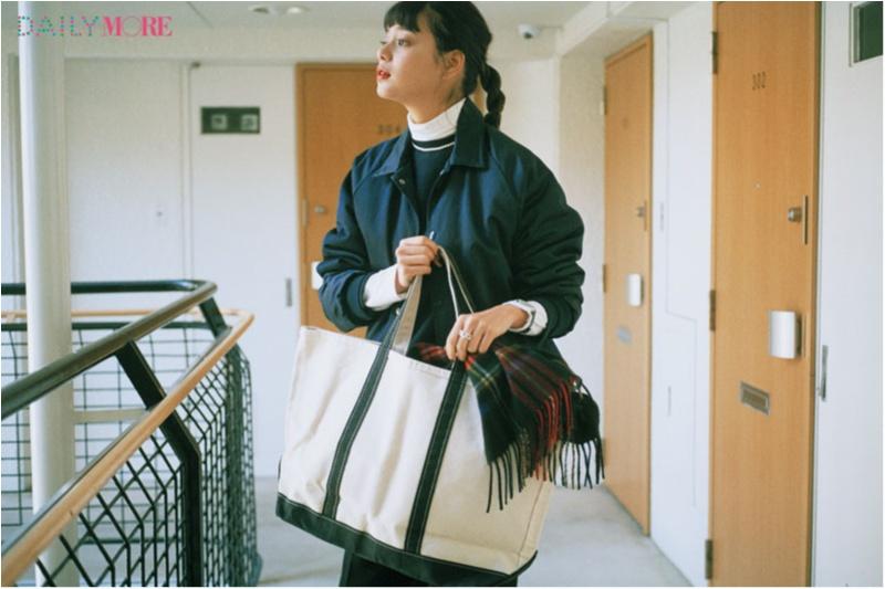 スタイリスト石上美津江さんが、冬こそ『L.L.Bean』のバッグをおすすめする理由_1_1