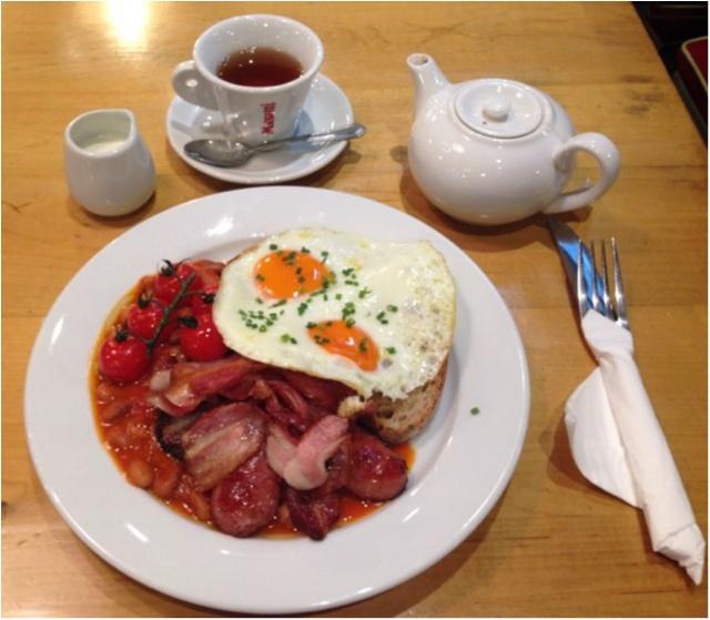 【Franze&Evans LONDON】ロンドン気分を味わえるお洒落カフェ★_4