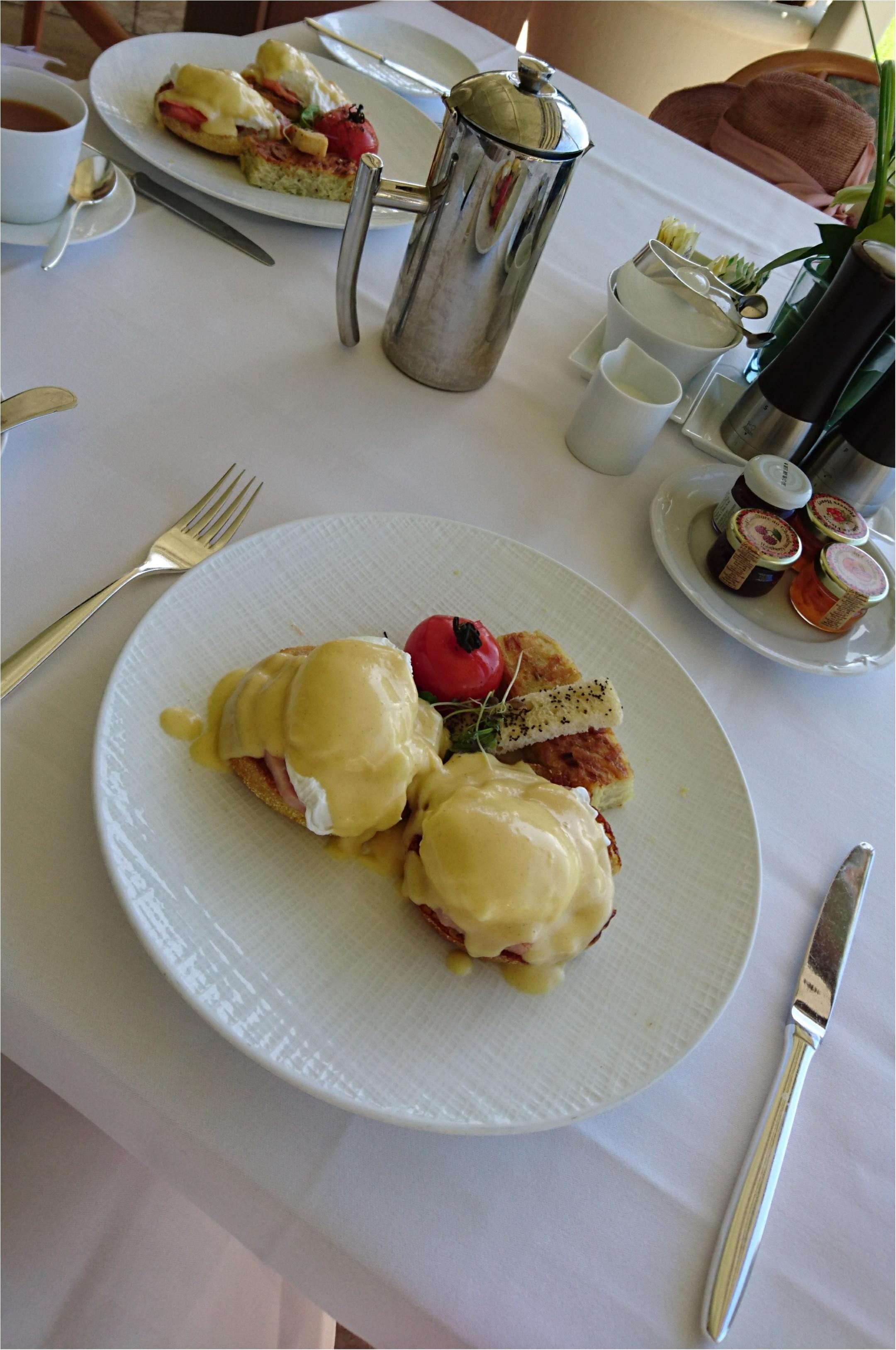 【trip】ホノルルで絶対おすすめの朝食♡最高のホテルで最高の朝食を(〃ω〃)_2