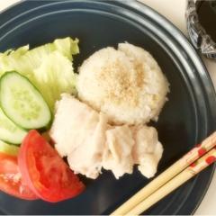シンガポールチキンライスを作ってみました!使えるおすすめ食器も紹介しています♡*