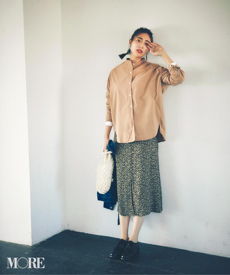 春のシャツコーデ特集《2019年版》- 20代女子におすすめ!オフィスカジュアルにちょうどいい きれいめシャツのコーディネートまとめ_23
