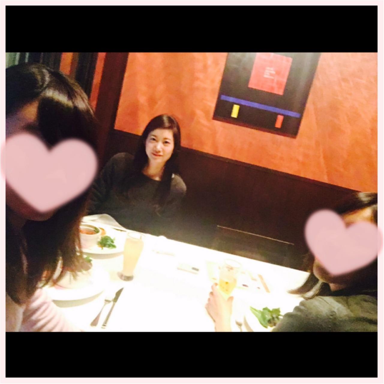 忘年会♡♡♡汐留でイルミネーションを見ながらディナーしたよ♪♪_1