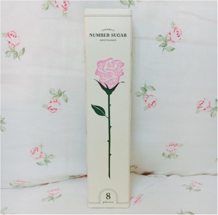 【プチギフト】ホワイトデーのお返しにバラを一輪♡ 話題の手づくりキャラメル専門店『NUMBER SUGAR』がプチギフトにぴったりなんです♡♡_3