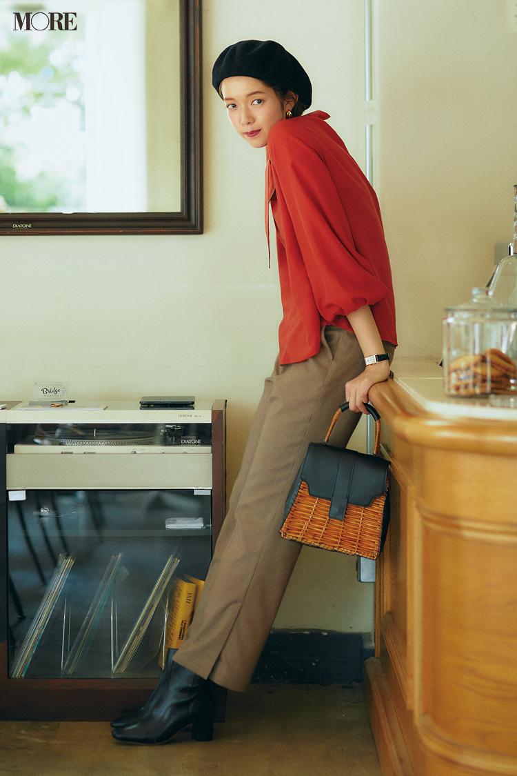 秋コーデ特集《2019年版》- トレンドのブラウンや人気のワンピース・スカートでつくる、20代におすすめのレディースコーデ_3
