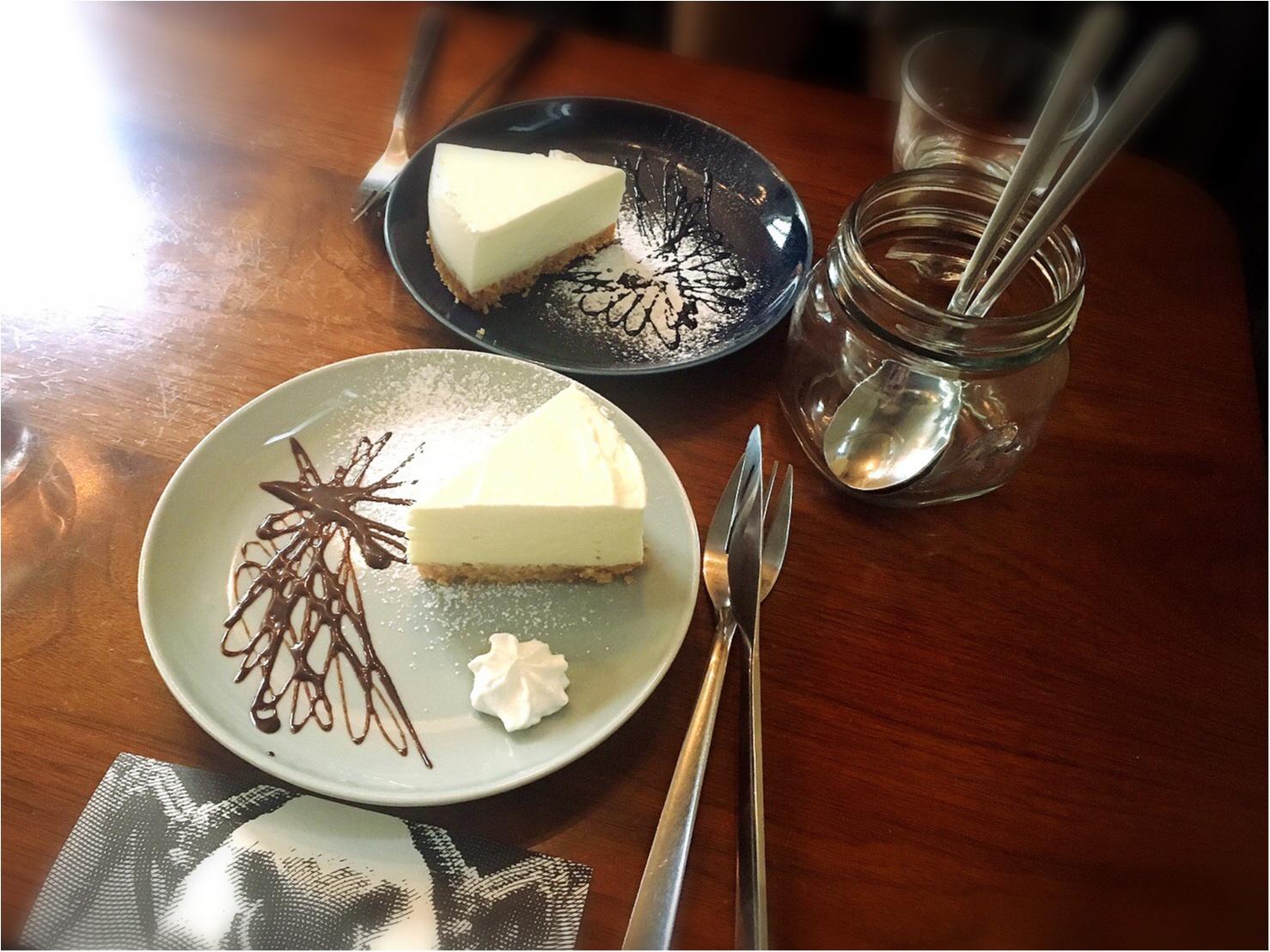 もお〜うまいもぉ♡【三軒茶屋】チーズケーキ専門店に初めていってみた♡_5_1