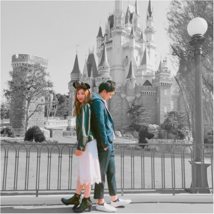 【Disney land】フォトスポットがいっぱい♡♡色々撮ってきました〜♡撮った写真を可愛く加工しましょ〜〜★★!加工アプリもご紹介♥︎_5
