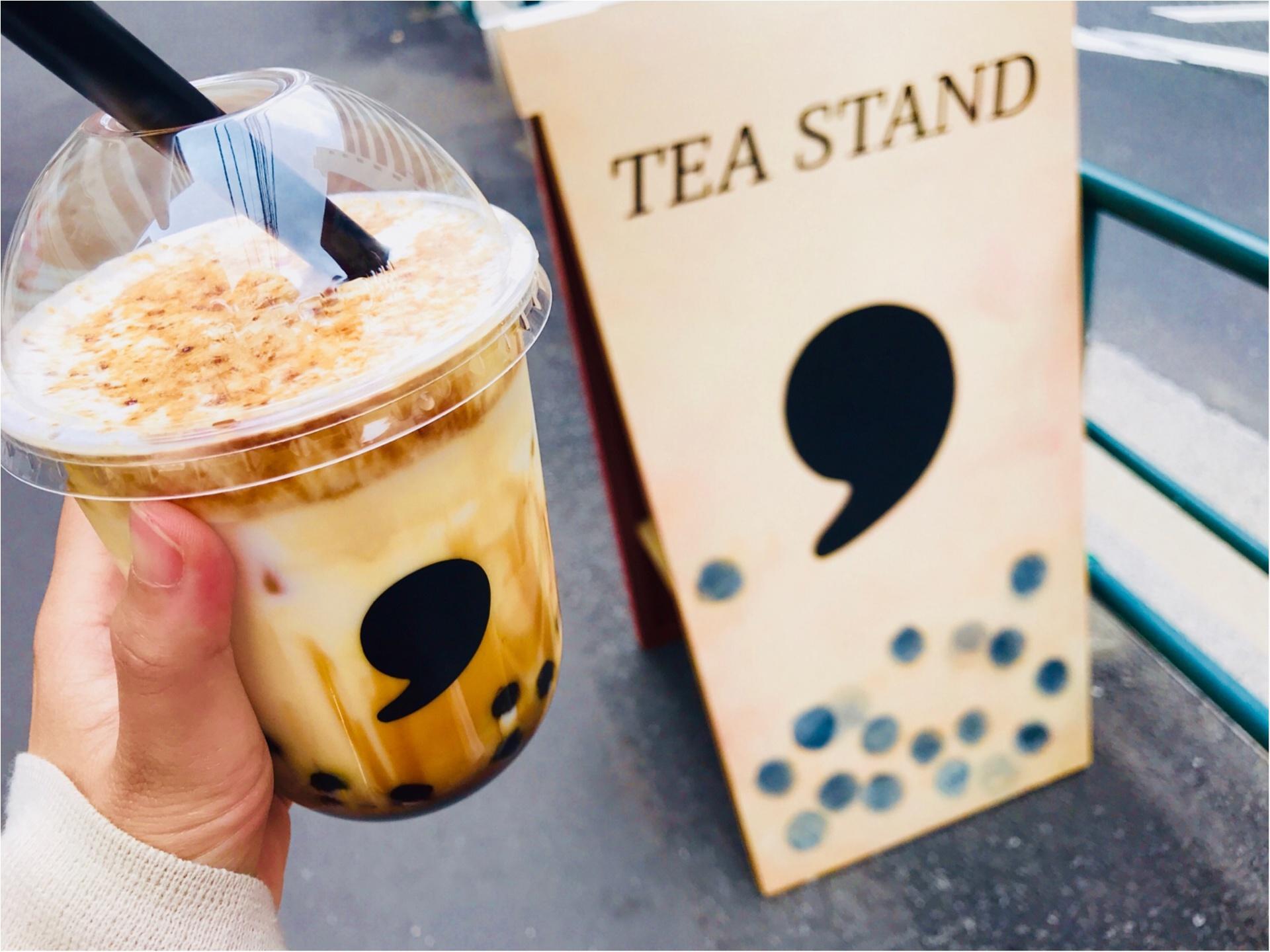 【コンマティー(comma tea)】日本初!《焦がし黒糖タピオカラテ》が絶品なんです♡_7