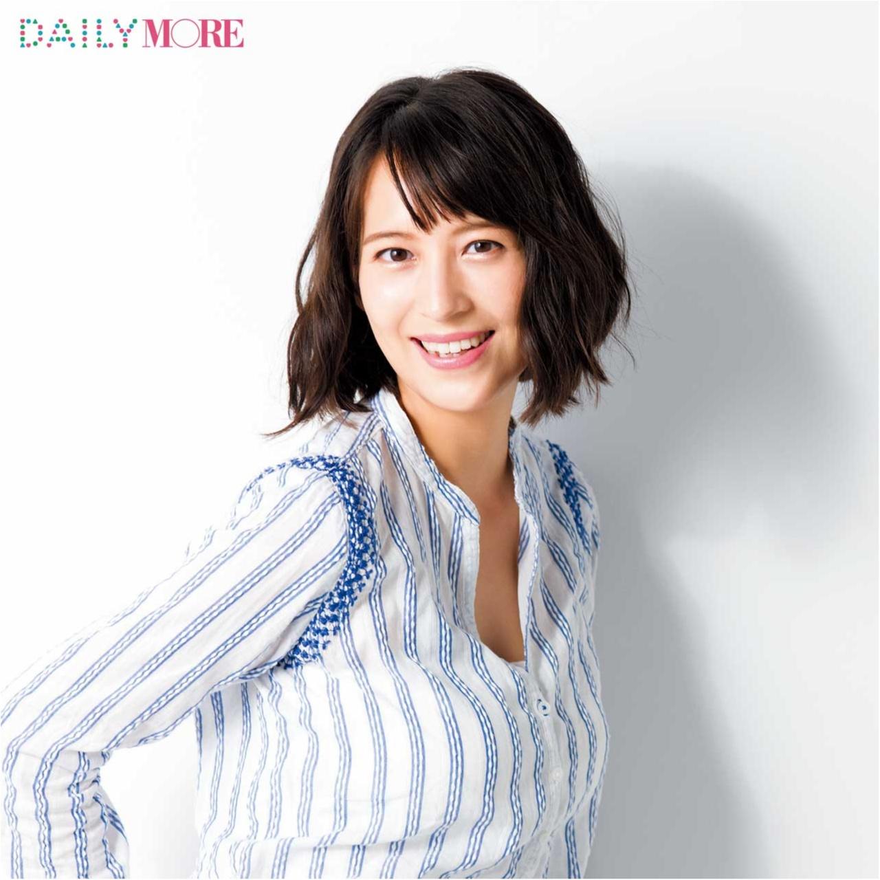 2児の母にしてこの透明感! フリーアナウンサー・青木裕子さんの「27歳からの美習慣」を大公開!_1
