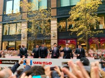 《ONE TEAMが集結❤️》【ラグビー日本代表 感謝パレード】を観に行ってきました!☻