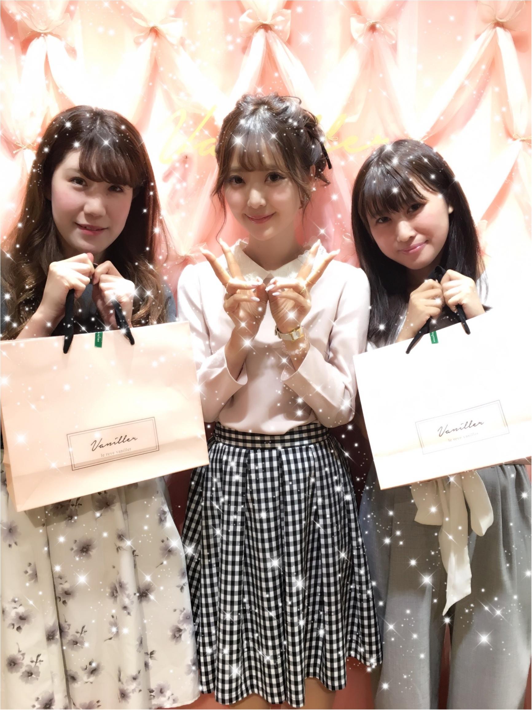 【8/21まで!】中田絵里奈さんプロデュース《le reve vaniller》 POPUP SHOP♡♡_3