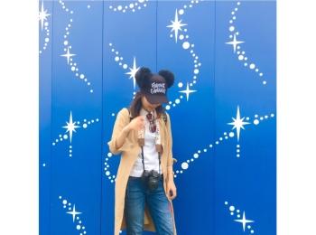 ▷【ディズニーコーデ】Whiteがいい!!レフ板効果を最大限活用するべし!!
