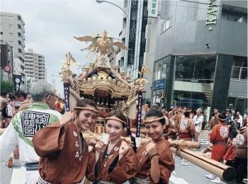 水掛け祭り!!