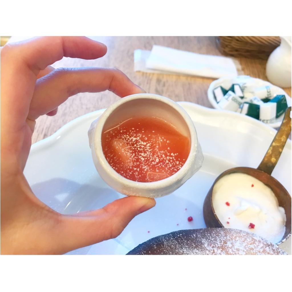 【Afternoon tea room】新作メニューを調査!白桃スフレ&爽やかドリンクがティータイムを華やかに!_2