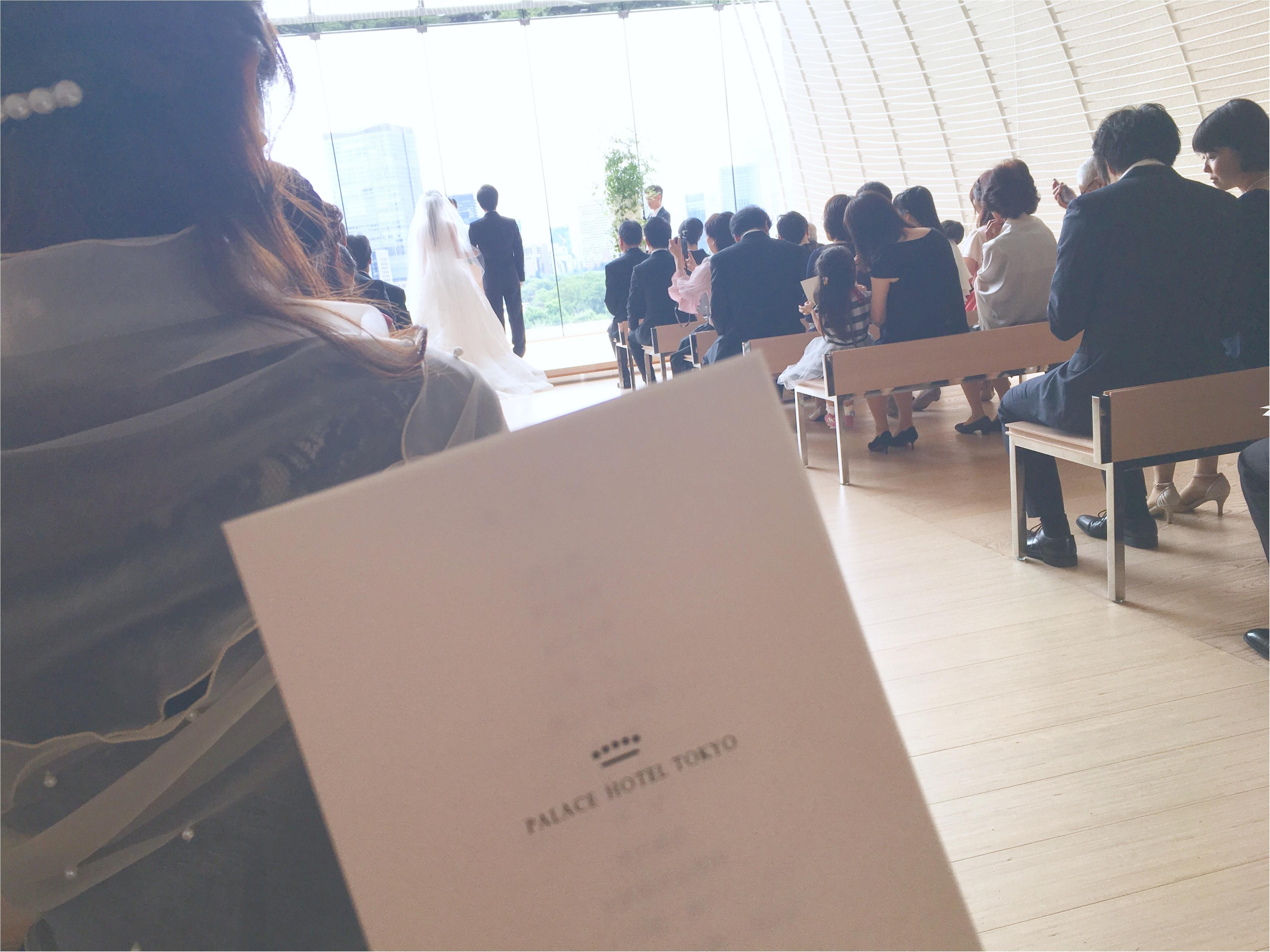 【パレスホテル東京】MOREインフルエンサーNo.600 asuちゃんの素敵な結婚式❤︎_1