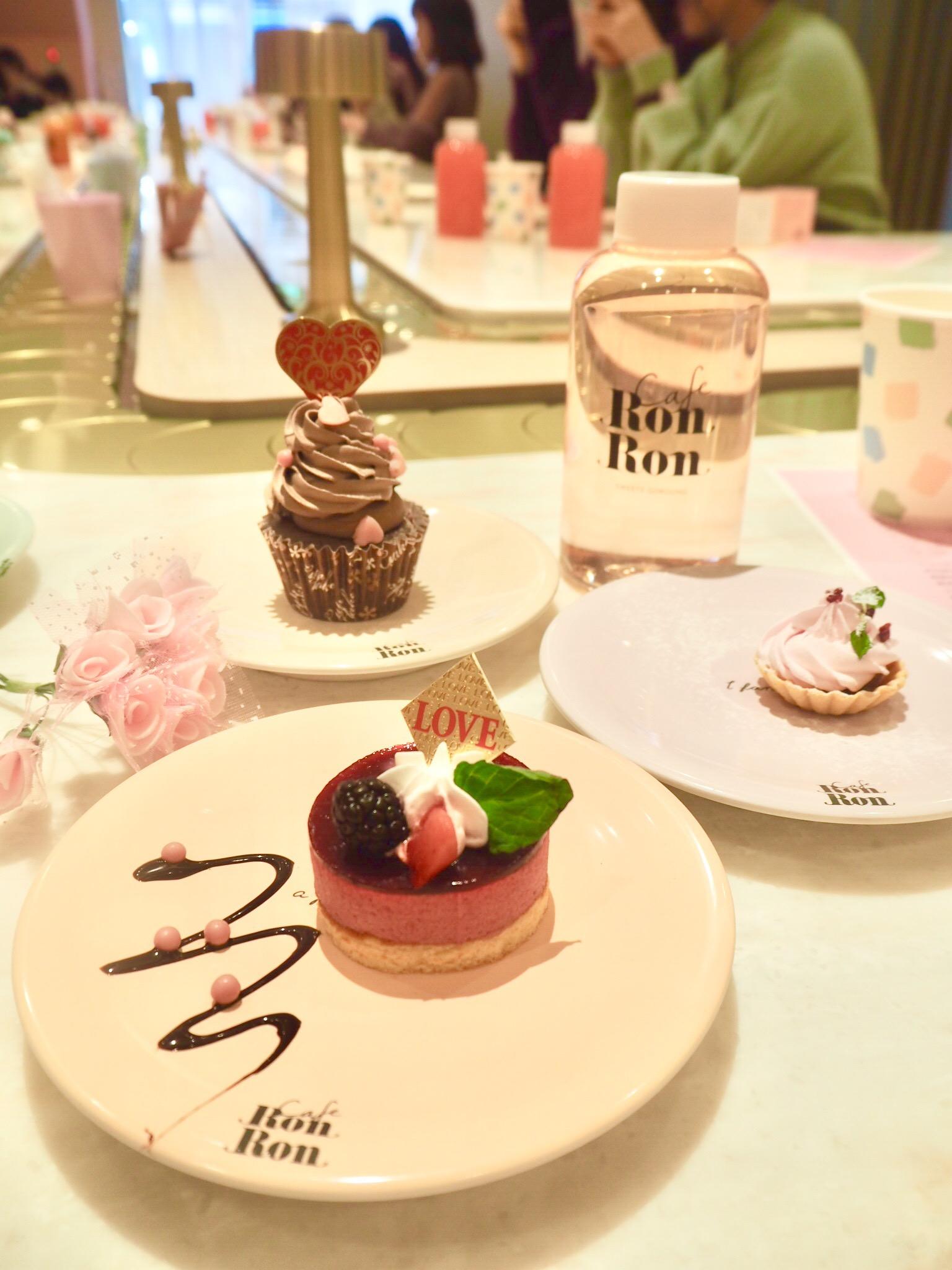 【cafe RON RON】回転スイーツカフェはバレンタインメニューもかわいい!_4