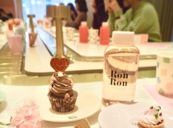 【cafe RONRON】回転スイーツカフェはバレンタインメニューもかわいい!